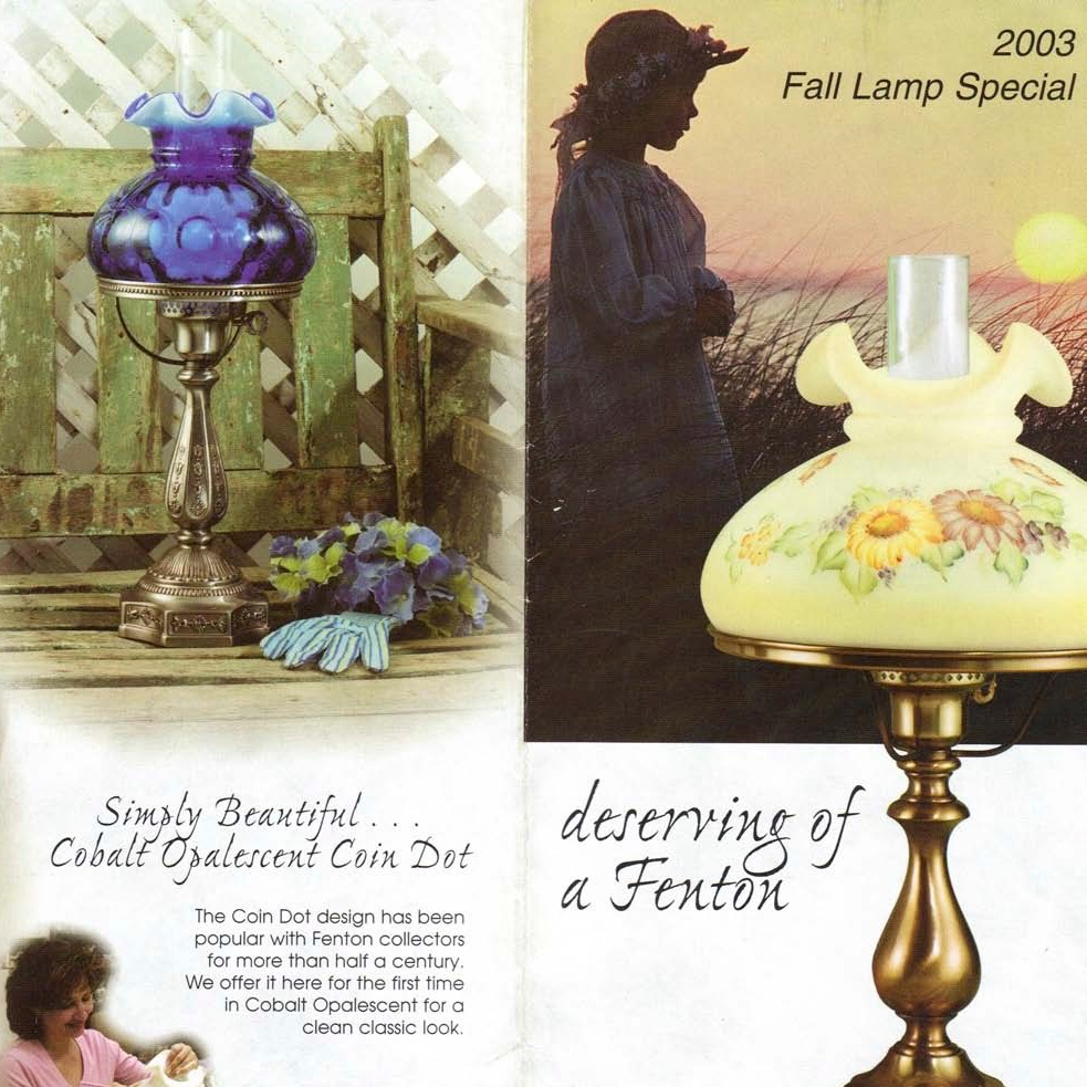 2003 Fall Lamp Special