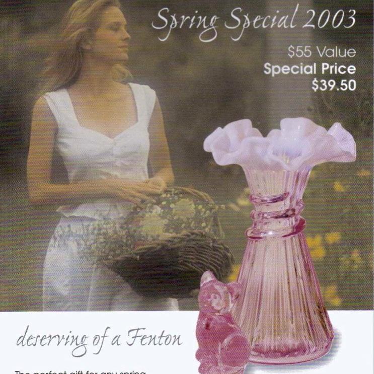 2003 Spring Special Vase
