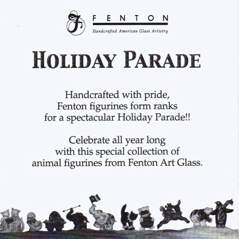 2004 QVC Holiday Parade Card