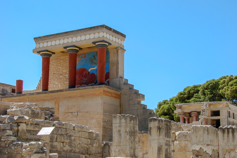 City of the Minotaur - Knossos (Crete, Greece)
