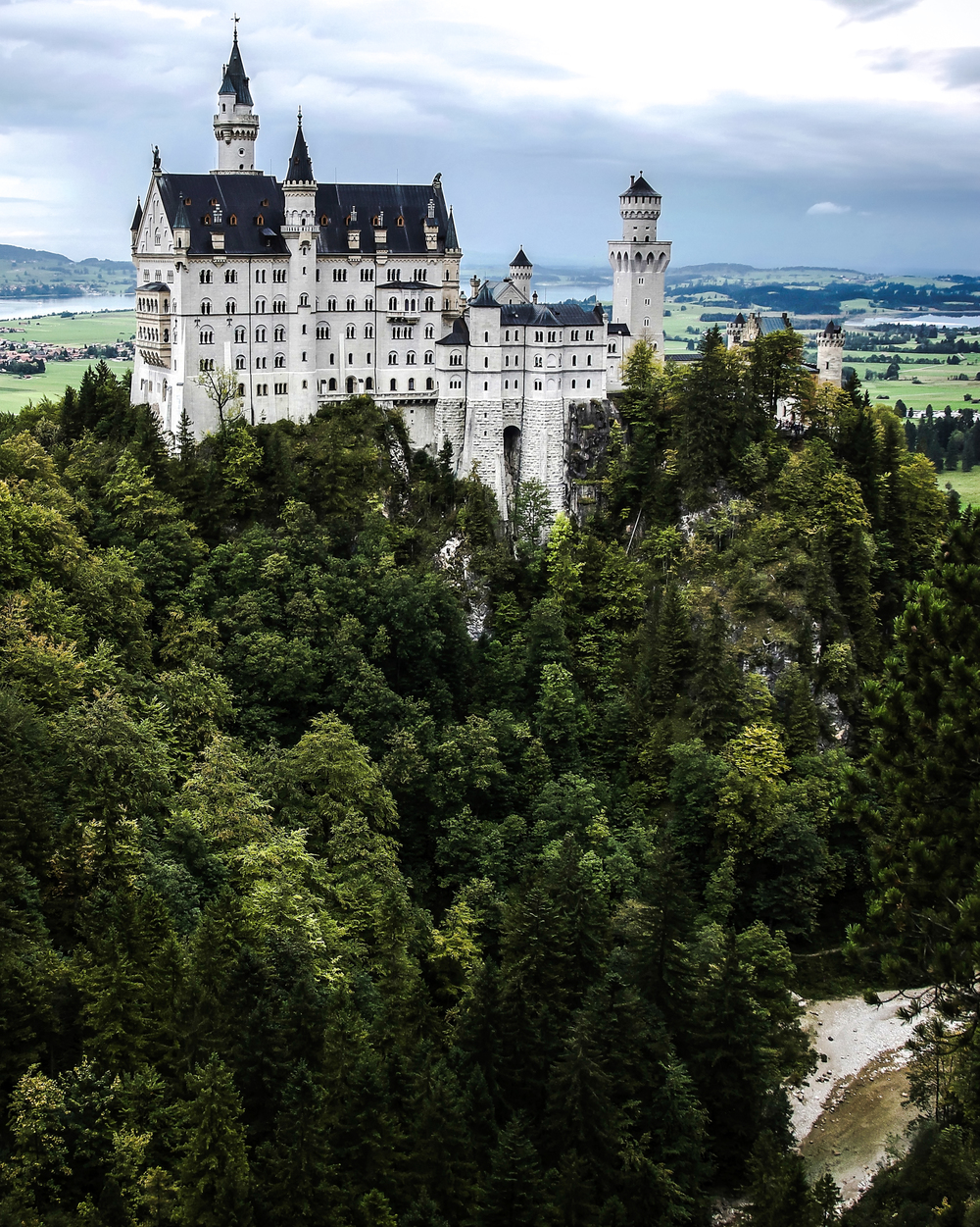 German Fairytale - Neuschwanstein Castle (Germany)
