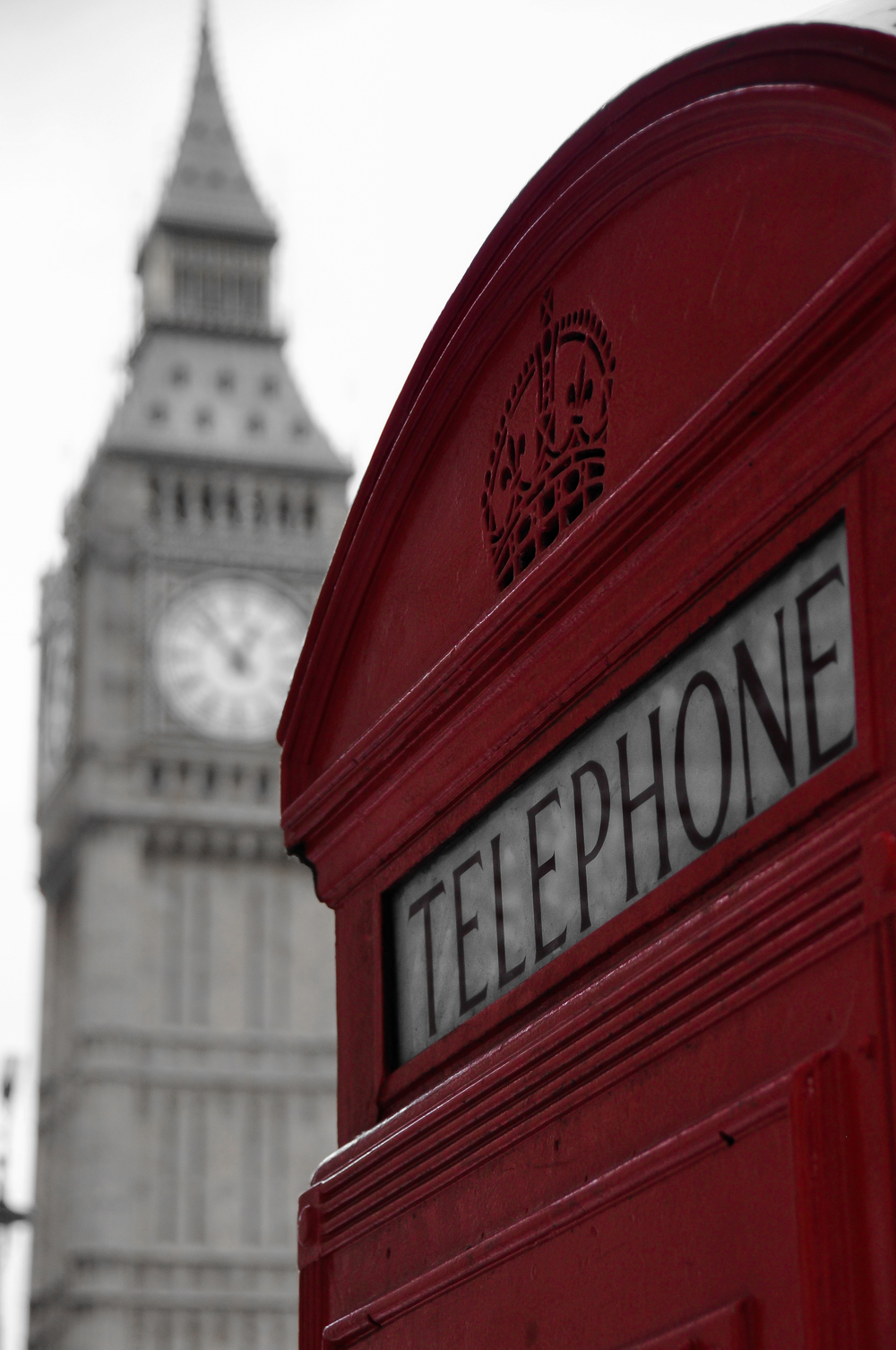 London Calling - Phone Booth/Big Ben (London, England))