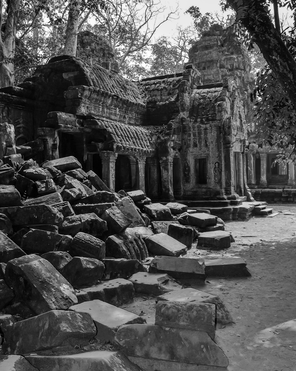 Faded Glory - Ta Prohm (Cambodia)