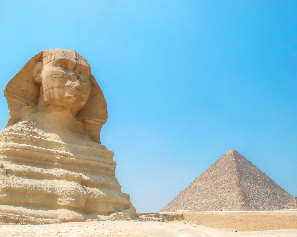 Eygptian Awesomeness - Great Sphinx/Pyramid (Cairo, Egypt)