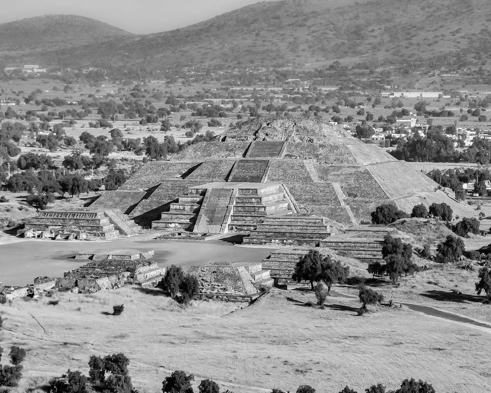 Temple of the Moon - Teotihuacan (Mexico)