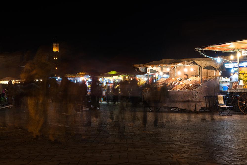 Manic Marrakech - Jemaa el-Fnaa (Marrakech, Morocco)