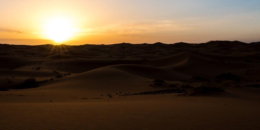 Sahara Sunrise - Erg Chebbi, Morocco