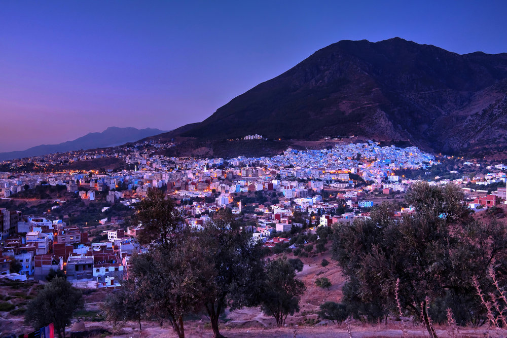 The Blue City - Chefchaouen, Morocco