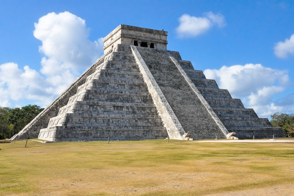 Temple of the Serpent God - Chichen Itza (Mexico)