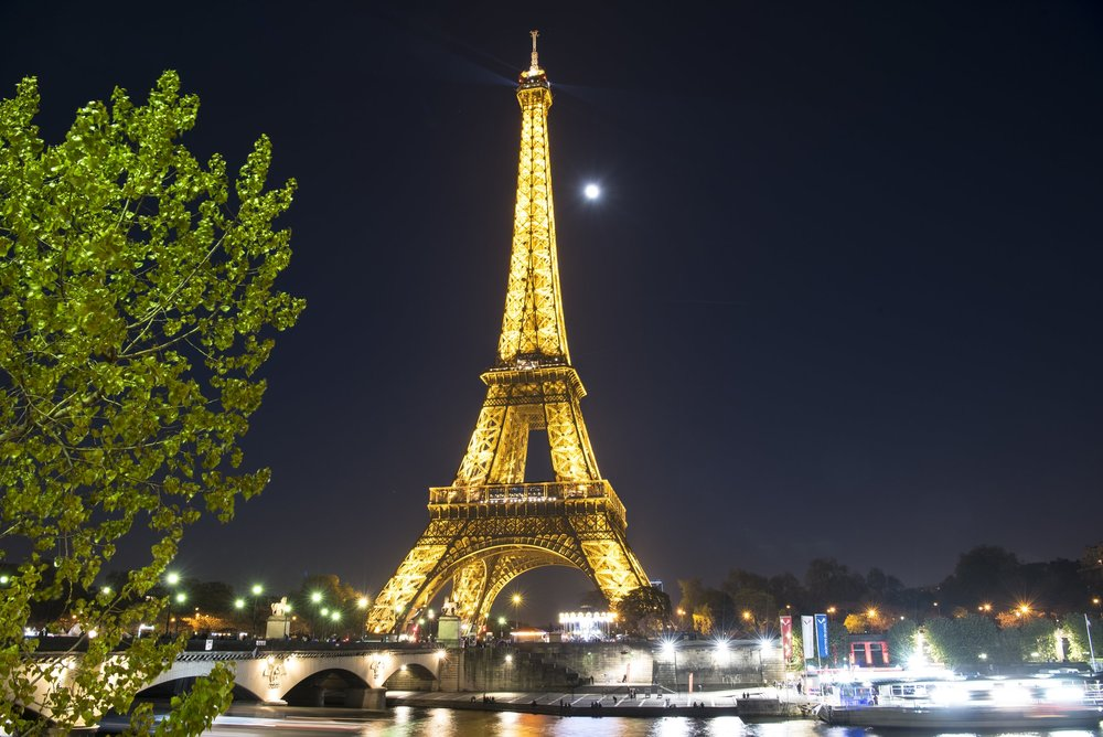 Paris Nights - Eiffel Tower (Paris, France)