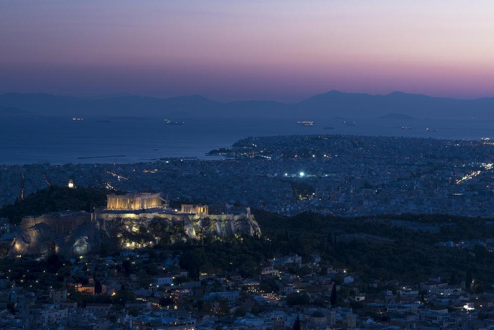 Athenian Skyline - Acropolis (Athens, Greece)