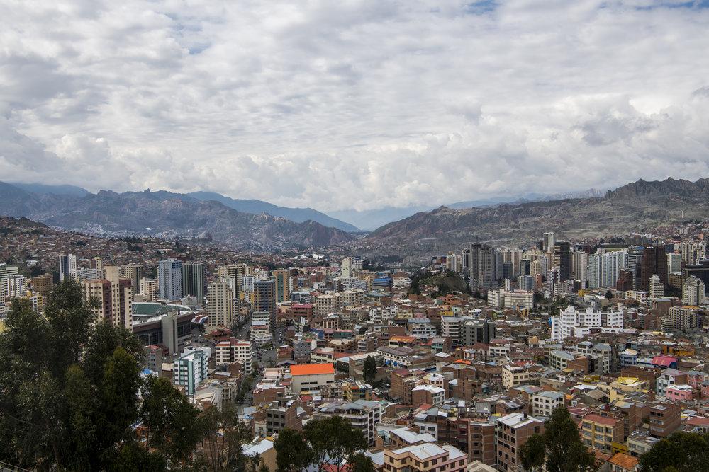 City in the Mountains - La Paz, Bolivia