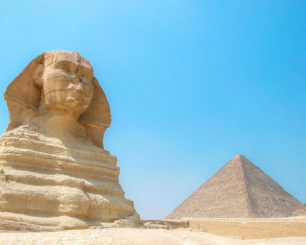 Great Sphinx & Pyramid