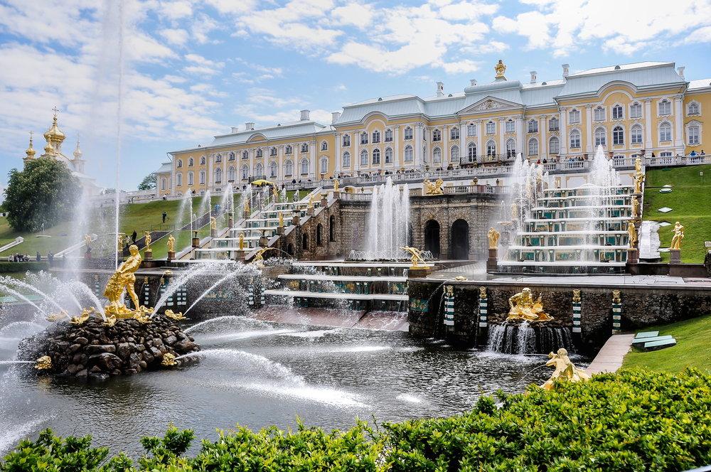 Peterhof Palace - Grand Cascade