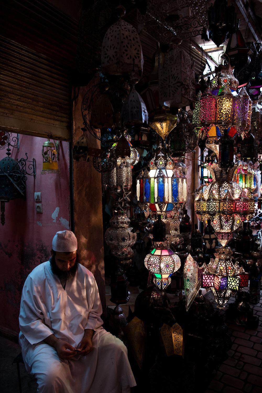Lamp Shop - Fez