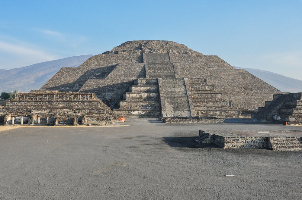 Pyramid of the Moon - Teotihuacán