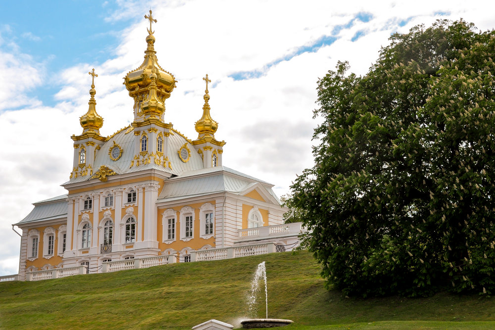 Peterhof - Church of Grand Palace