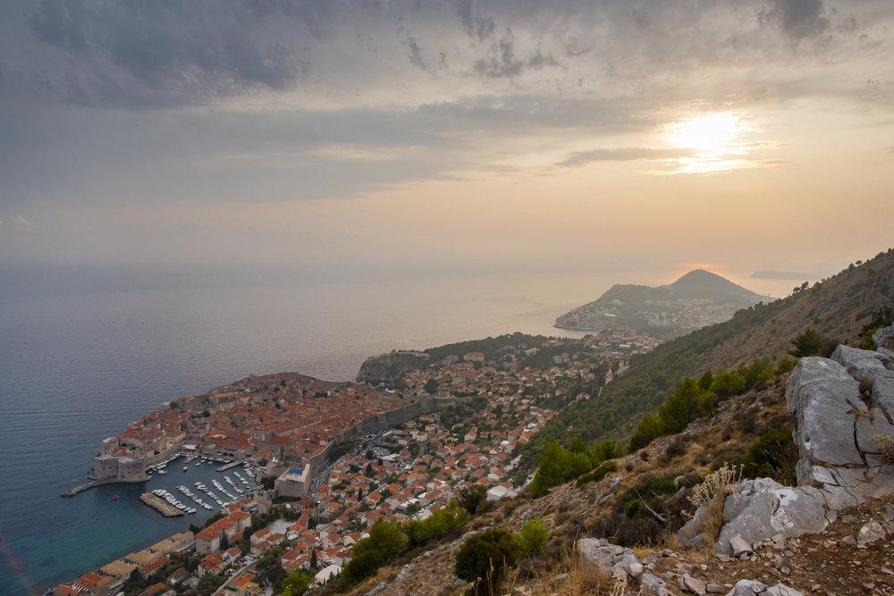 Croatian Sunset (Dubrovnik, Croatia)
