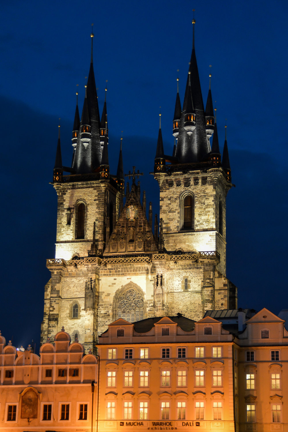 Gothic Towers - Our Lady before Týn (Prague, Czech Republic)