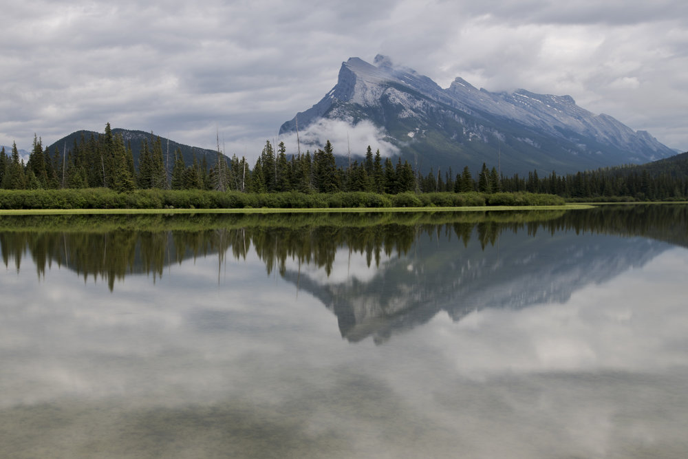 Canadian Reflections - Vermillion Lakes (Banff, Canada)