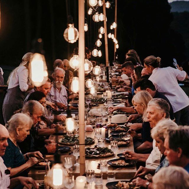 What dreams are made of. Dinner under the stars with your nearest and dearest. Our stunning set up for Kristie and Clint with the best suppliers at @ardeenaevents with the best @crisfeldenscatering  catering lighting and furniture by @theonedayhouse_rentals tableware and linen from the best @supperclubco music by @chrishutchisonweddings @thekoiboys @elevationliveband furniture from @hamptoneventhire @theperfection.project cake by @thecakethatateparis and gelato @wheelandspoon and our faves at @gathering_events and many many more.... photo tipi @goldcoast_tipis @ivyroadphotography and @anchoredcinema What a team!!!! Oh What A Night ✨✨✨