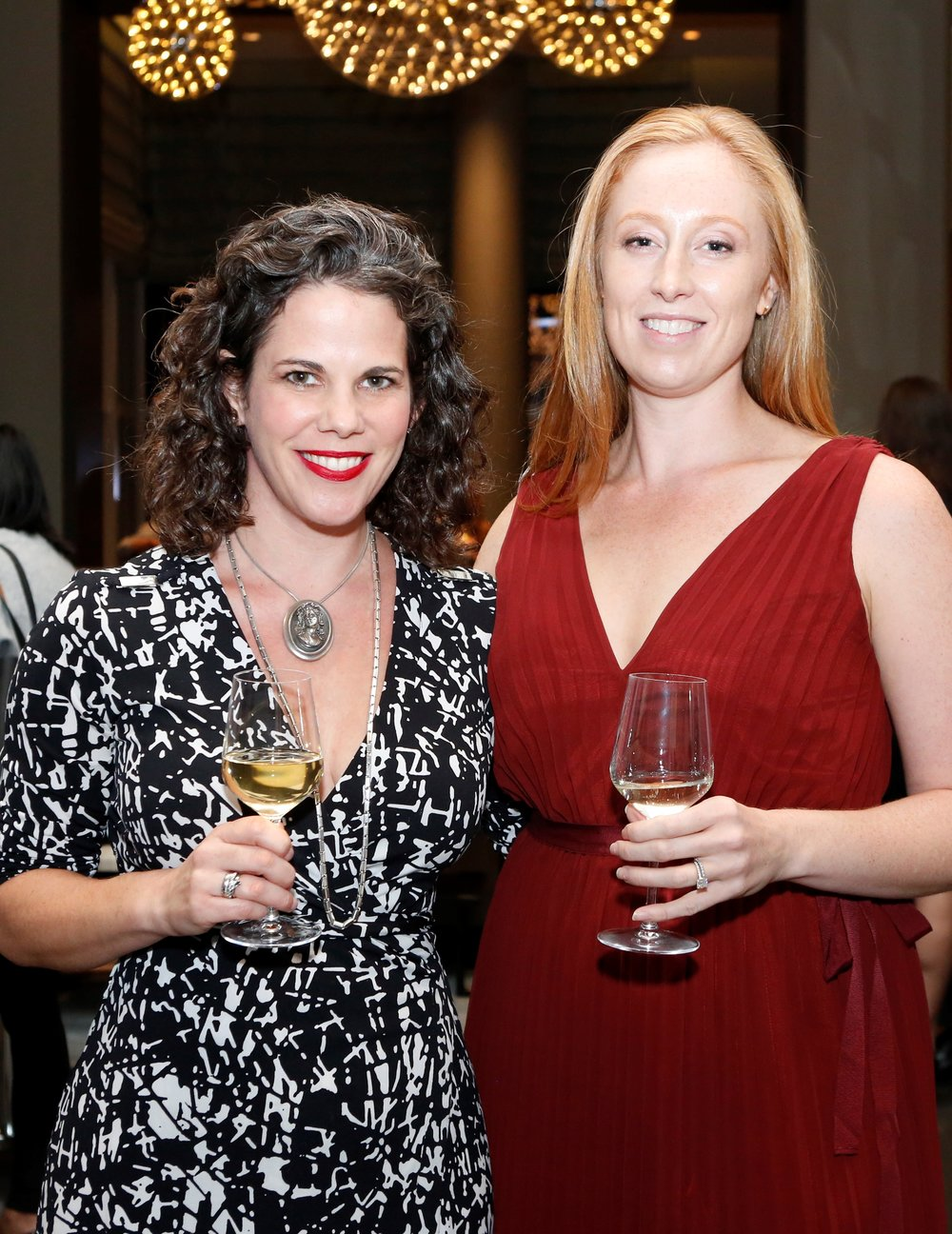 Five Senses Tastings Founder Kala Maxym and Vinfluence Founder, Shannon Westfall.