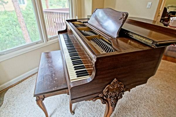 A piano is an expensive item that should be scheduled on your insurance to make sure the full value is insured.