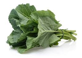 1 CUP OF COLLARD GREENS:  VIT A - 48%            VIT C - 21%                  CALCIUM - 5%