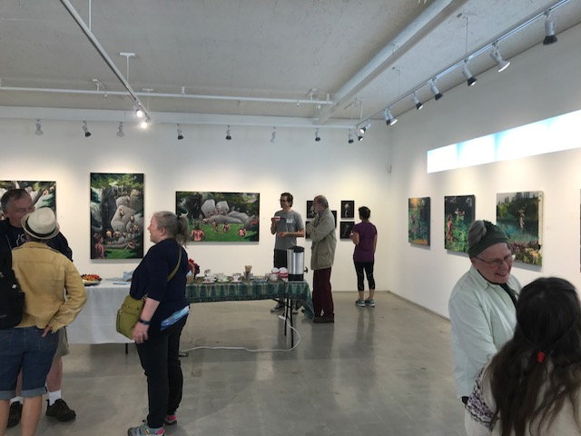 Gibsons Public Art Gallery, June 2017