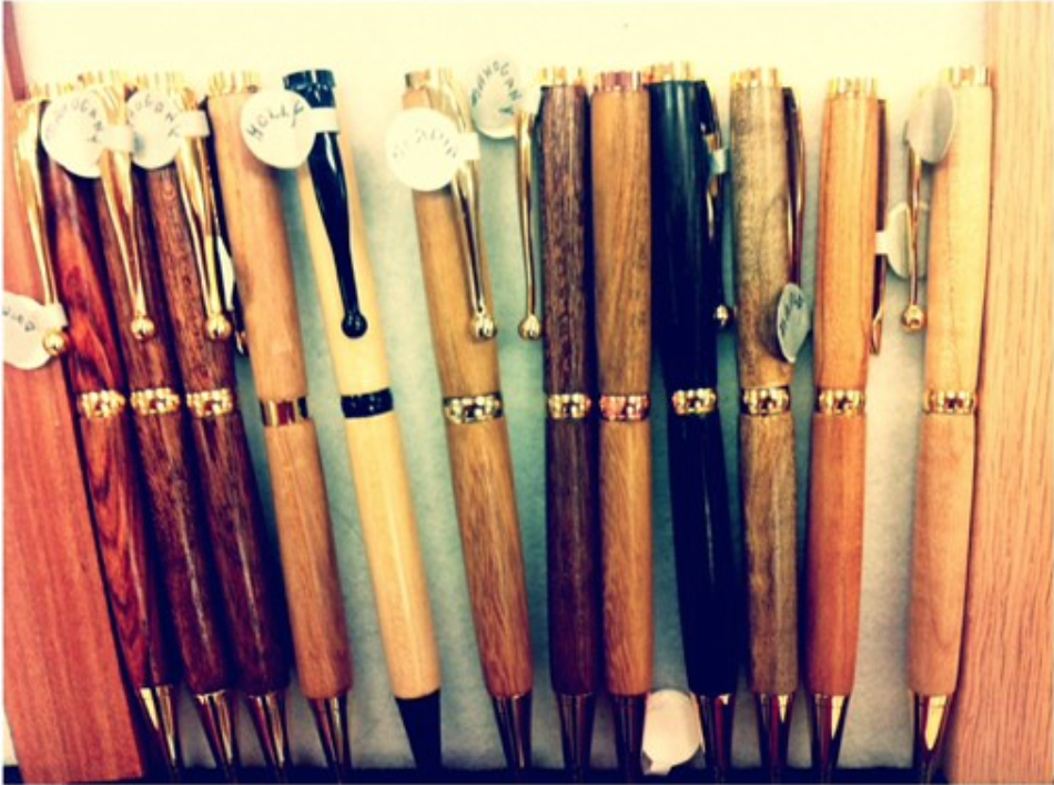 Our Grampa's Pens