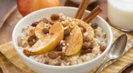 Apple & Cinnamon Porridge
