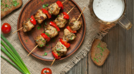 Spiced Chicken & Tomato Skewer
