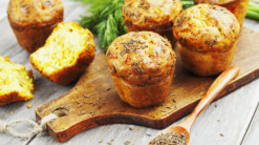 Broccoli & Cheese Muffins