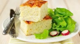 Zucchini Rice Slice