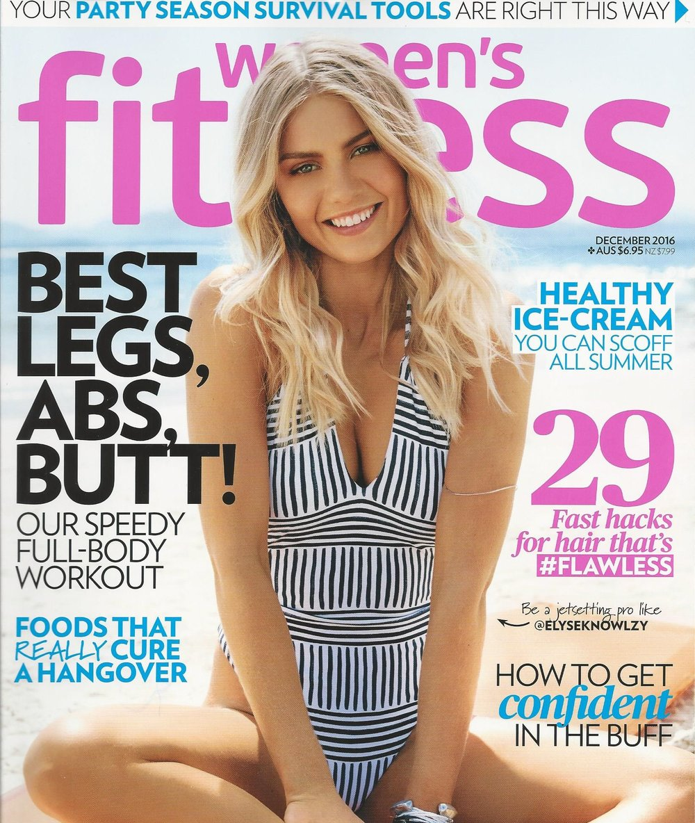 Women's Fitness Magazine Dec 2016