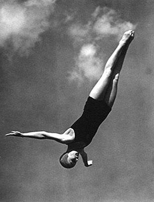 Diver  1936 Leni Riefenstahl