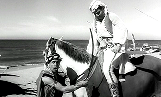 Shooting a photo-novel in  The White Sheik