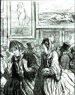 This Year Venuses Again! 1864 Honoré Daumier