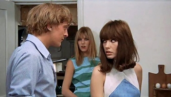 Blow-Up  David Hemmings, Jane Birkin and Gillian Hills
