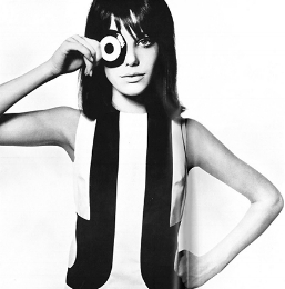 Jane Birkin  David Bailey from  Box of Pin-Ups