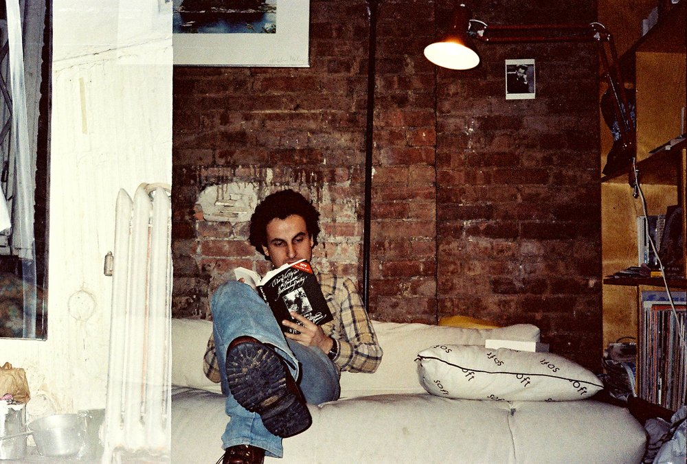 1980 Self portrait in my apartment on Delancey St.