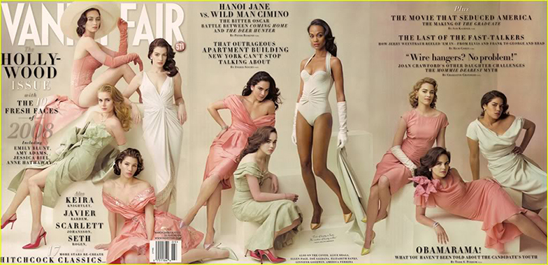Vanity Fair March 2008 Annie Leibovitz