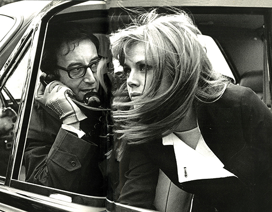 Peter Sellers and Britt Ekland 1967 Ronald Traeger