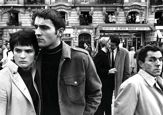 Paris 1967 William Klein. Klein's radical open frame seen to full effect.