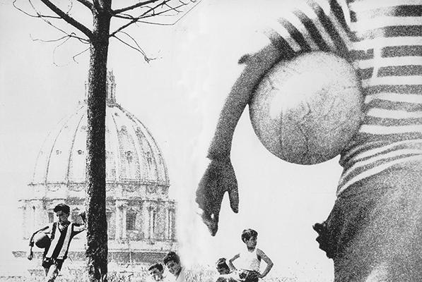Ronald Traeger,  Rome Series ,  1962