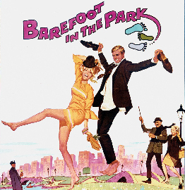 Barefoot in the Park 1967 Promotional Poster