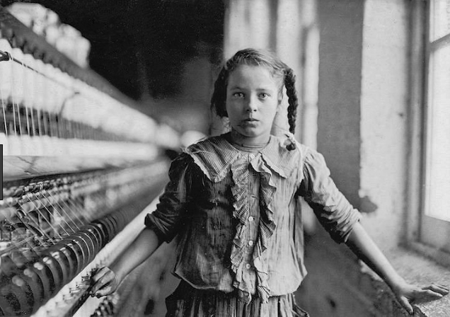 Spinner in a Carolina Cotton Mill , 1908 Lewis Hine