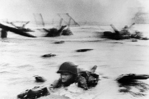 Normandy Invasion,  1944 Robert Capa