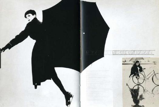 Harper's Bazaar , two page spread Designer: Alexei Brodovich