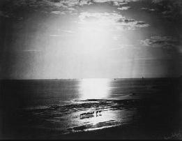 Le Soleil Couronné, Ocean , 1856 Gustave Le Gray